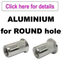 Rivet Nuts - Aluminium