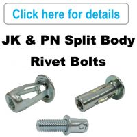 Rivet Nuts - JK & PN, Rivet Bolts