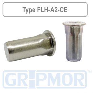 flange_head_half_hex_body_closed_end_a2