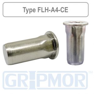 flange_head_half_hex_body_closed_end_a4